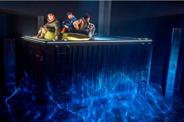 The Unreturning play, Theatre Royal Stratford East, Frantic Assembly, review