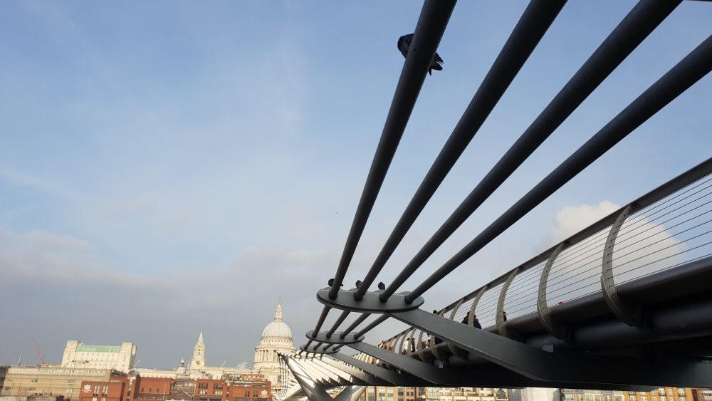 Wobbly Bridge, Millenium Bridge