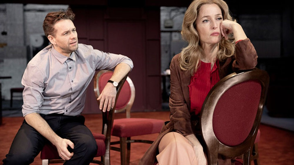 All About Eve, review, Gillian Anderson, Julian Ovenden, Noel Coward Theatre