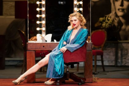 All About Eve, review, Gillian Anderson, Lily James, Noel Coward Theatre