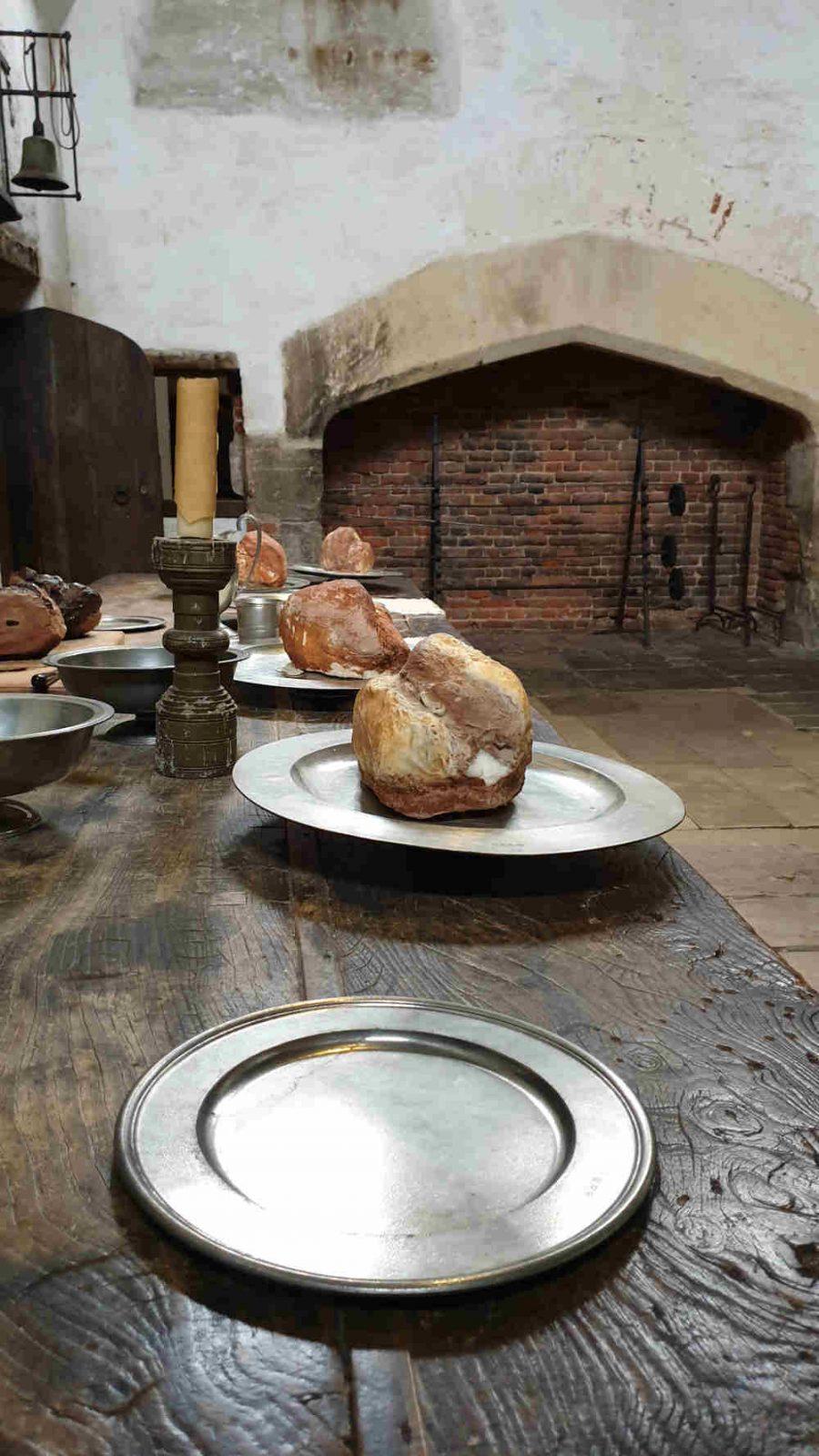 The Favourite, film location, Hampton Court Palace, kitchen, Emma Stone, Abigail Masham