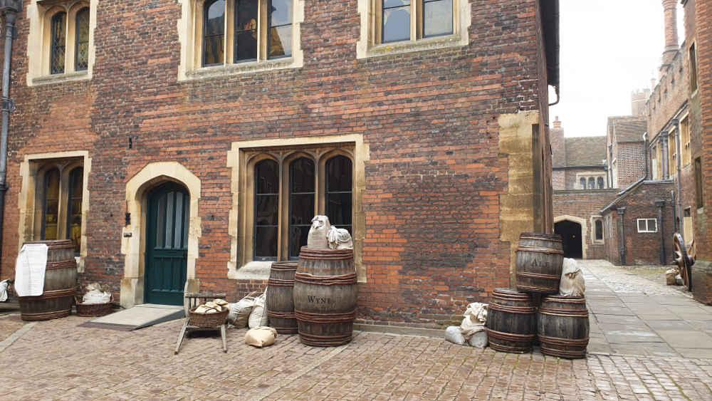 The Favourite, Costumes, Hampton Court Palace, kitchen, Emma Stone, Abigail Masham