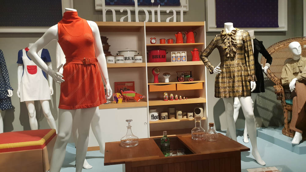 Swinging London, Fashion and Textile, Mary Quant, Terence Conran, Laura Ashley
