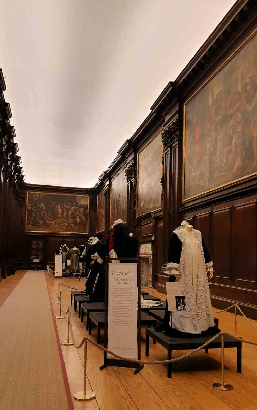 The Favourite, Costumes, Hampton Court Palace, Queen Anne