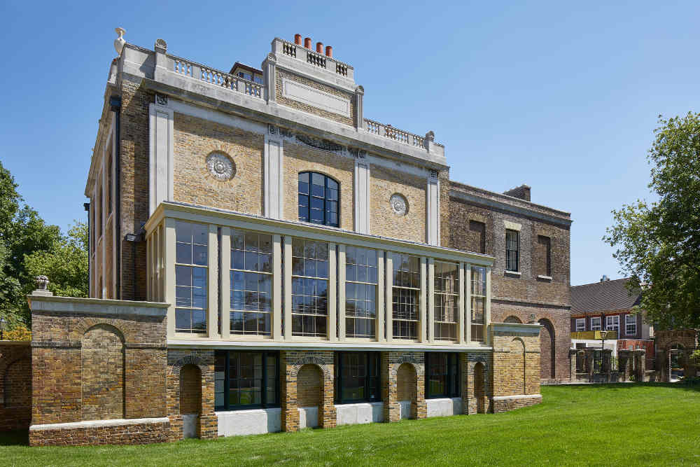 Pitzhanger Manor and Gallery, John Soane, Ealing, opening