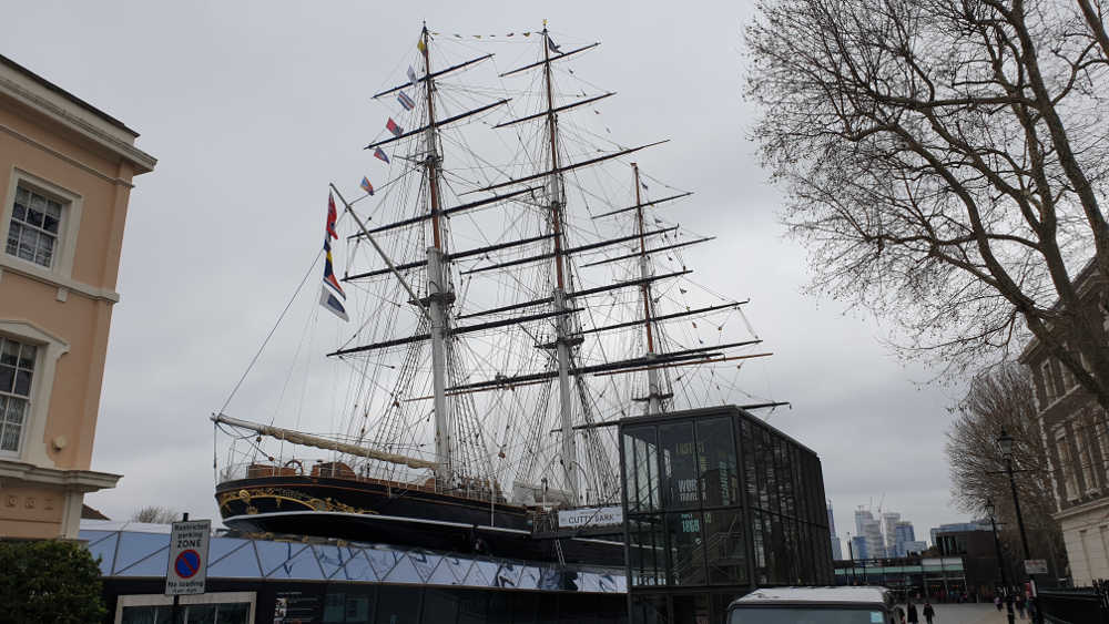 cutty sark, restoration, fire, pirates in London