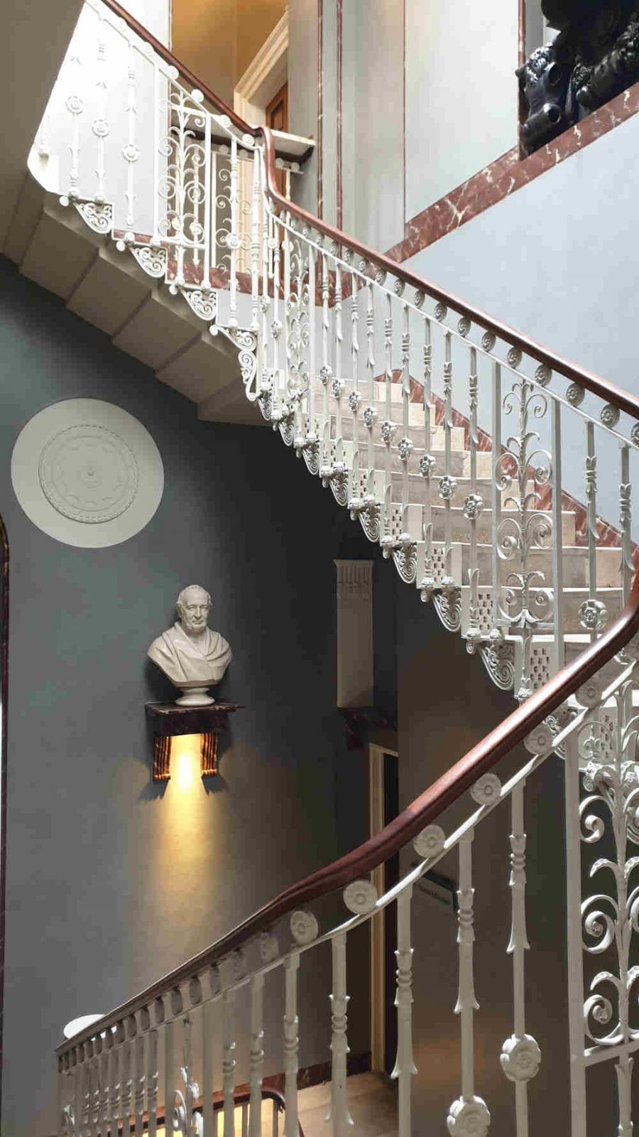 Pitzhanger restoration, John Soane, vestibule. skylight, Julian Harrap , Jestrco and Whiles
