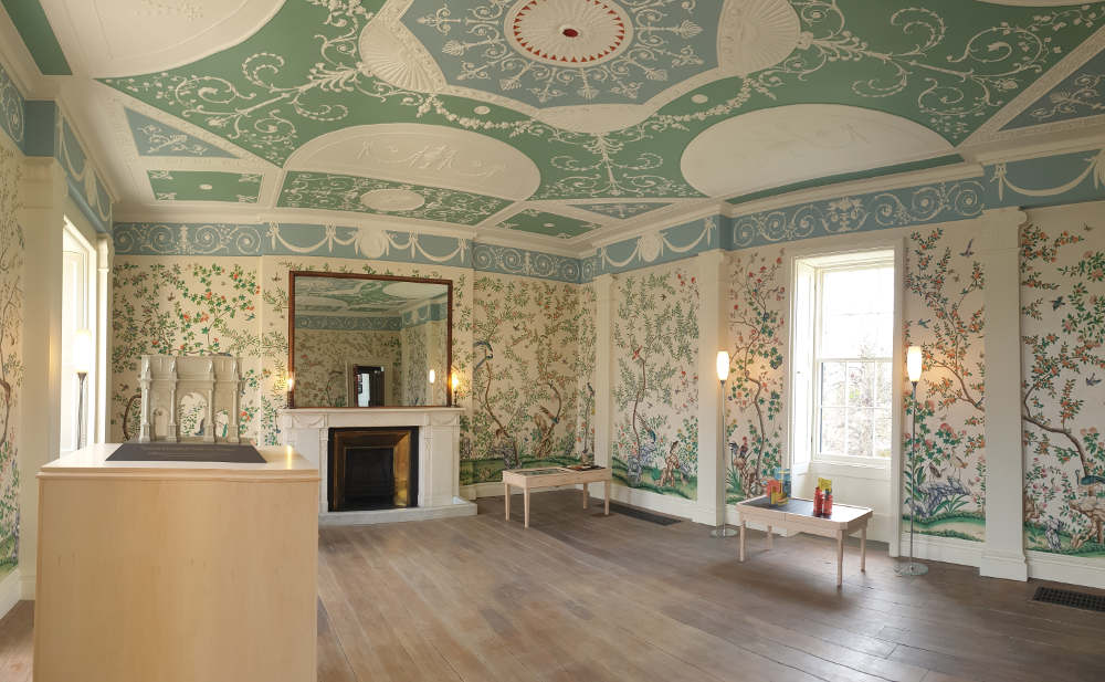 Pitzhanger Manor, reopening, restoration, drawing room, Ealing, Alasdair Peebles
