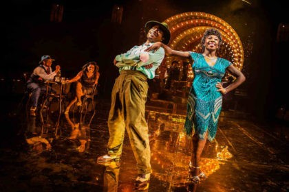 Aint Misbehavin, review, Southwark Playhouse, Tyrone Huntley, oti mabuse
