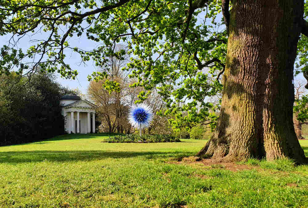 Dale Chihuly, Kew Gardens, Sapphire Star
