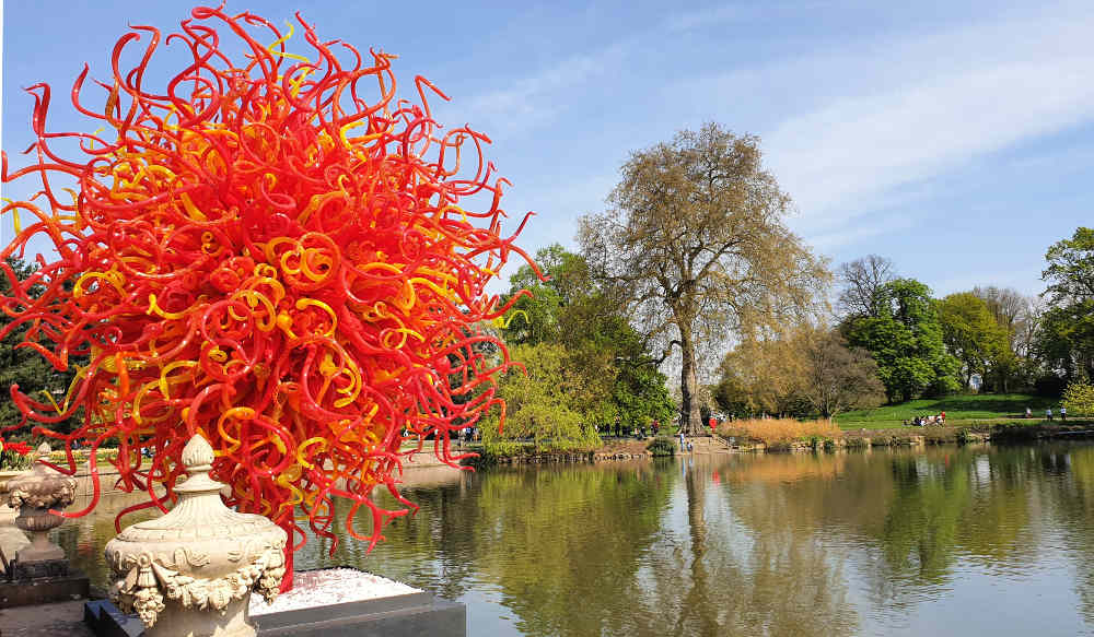 Dale Chihuly, Kew Gardens, Summer Sun