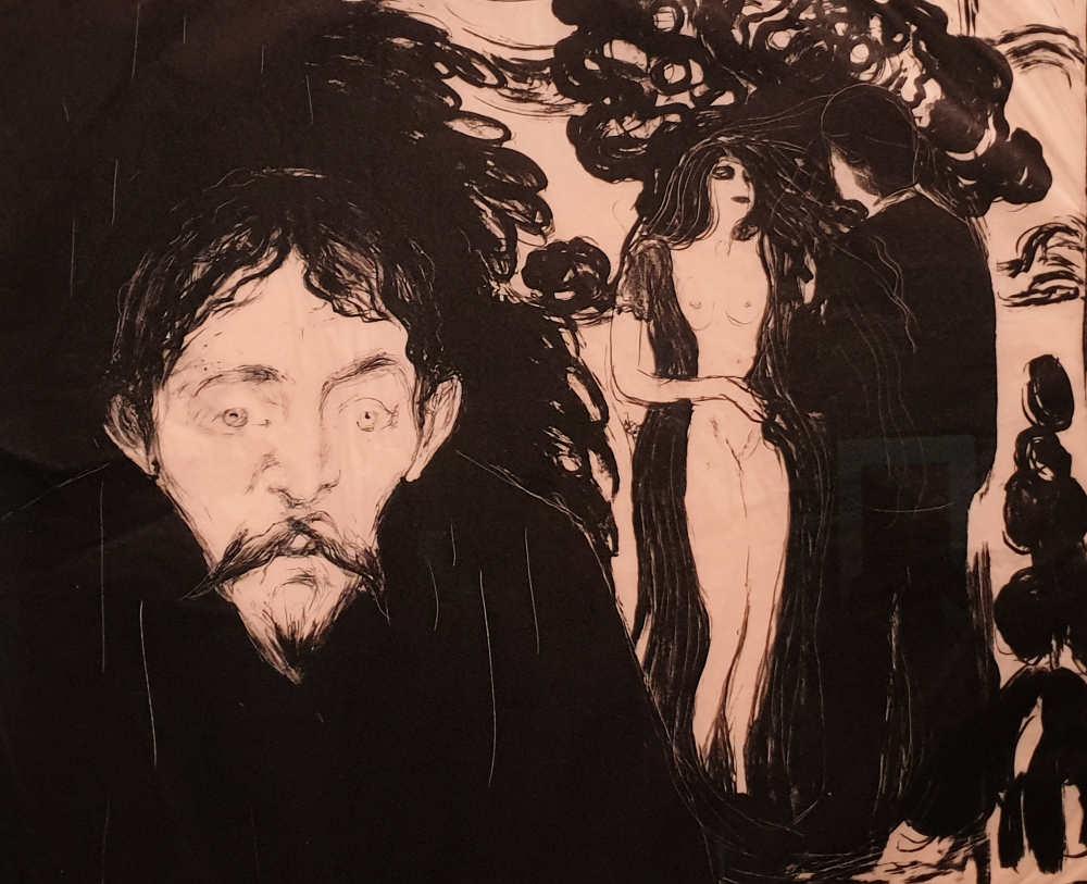 Munch, British Museum, Jealousy II, Przybyszewski