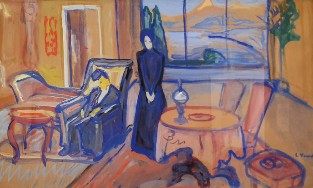 Edvard Munch, British Museum, Ibsen, Ghosts