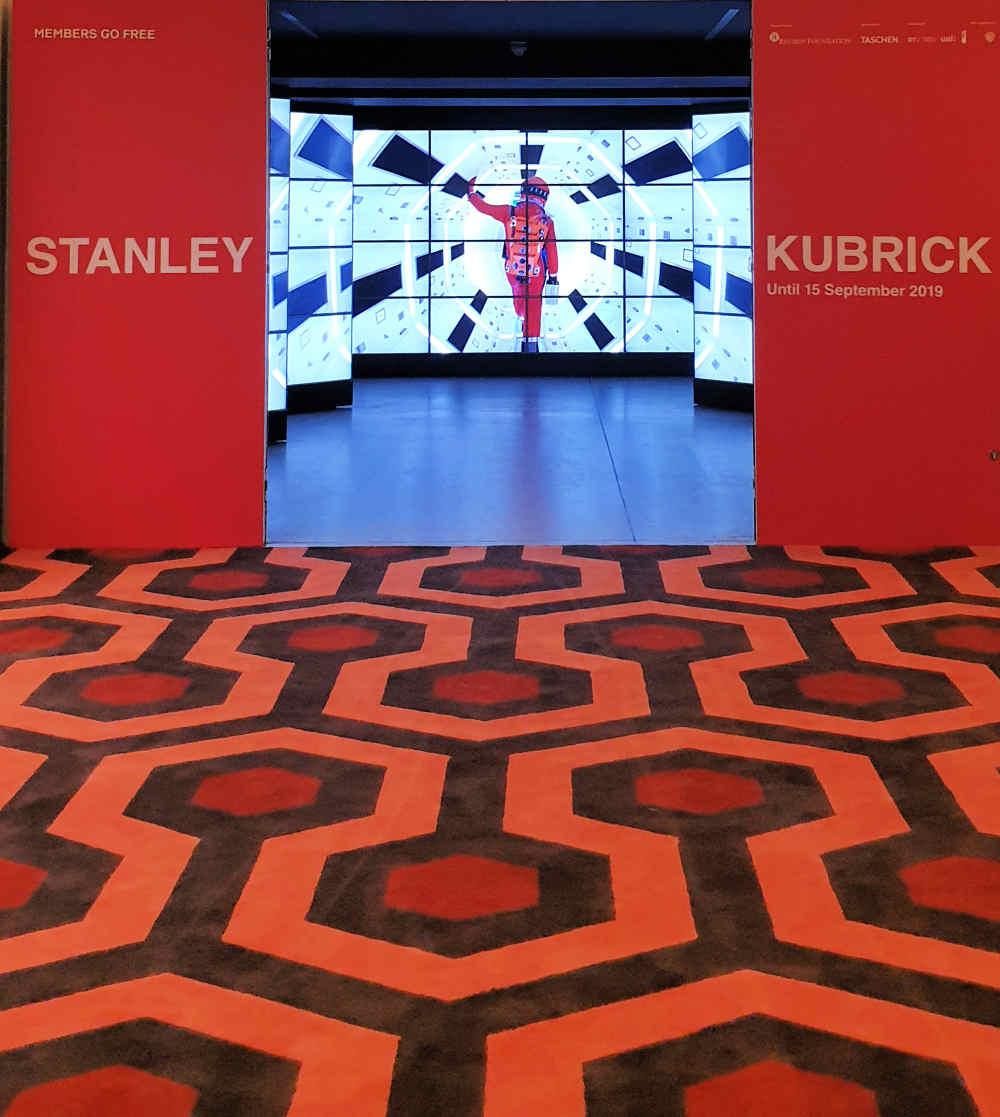 Stanley Kubrick, Exhibition, Design Museum, London