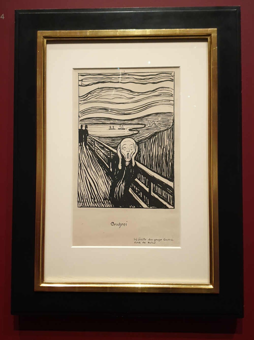 The Scream, Edvard Munch, British Museum
