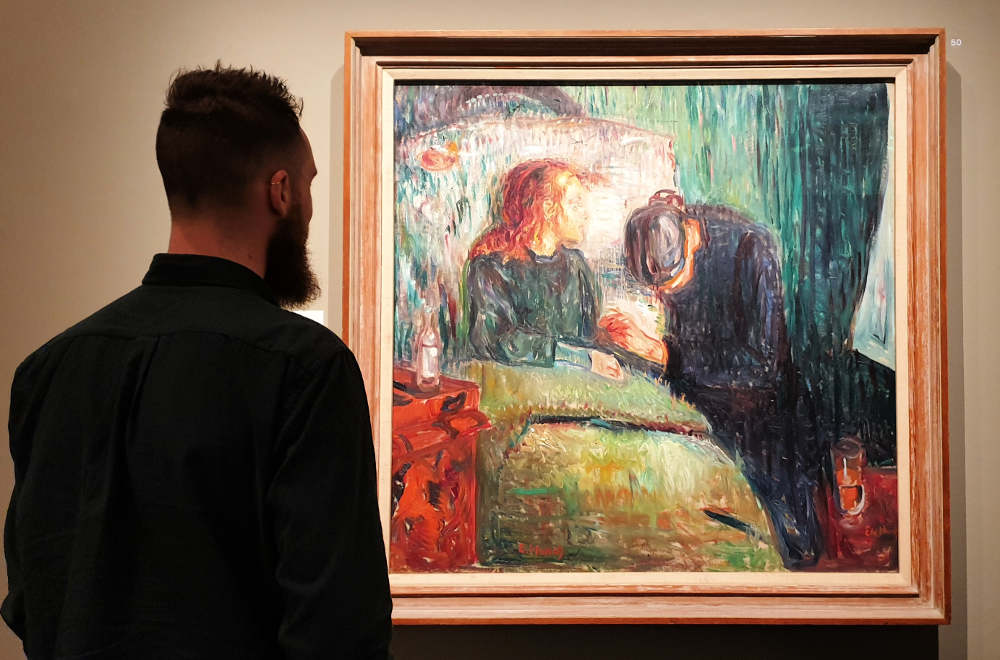 Edvard Munch, British Museum, Sick Child
