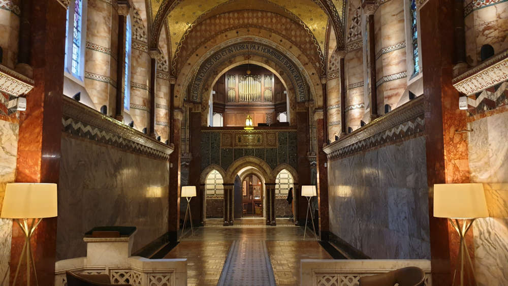 Fitzrovia Chapel, London, Wedding venues, London, Photo shoot venues