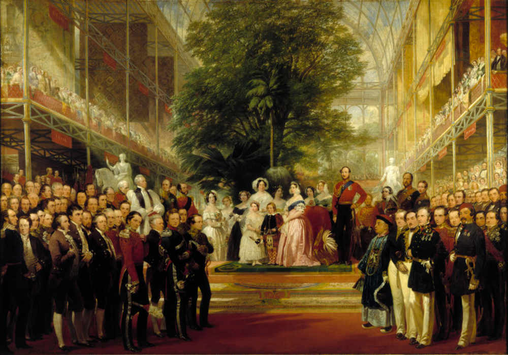 The Great Exhibition, Crystal Palace, Queen, Victoria, Victoria and Albert Museum, V and A Joseph Paxton