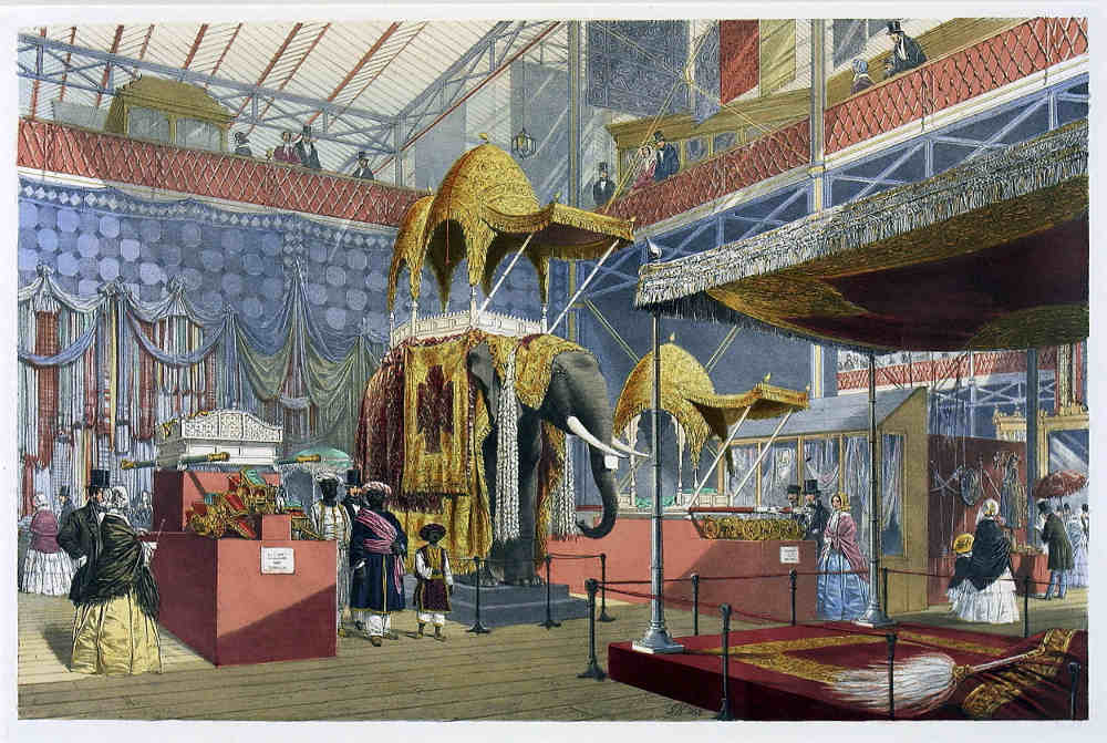 The Great Exhibition, Crystal Palace, Koh-i-Noor, Prince Albert, India,