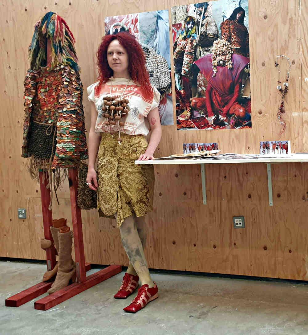 Cecily Cracroft-Eley, NOVA Awards, MullenLowe, Central Saint Martins, fashion knitwear