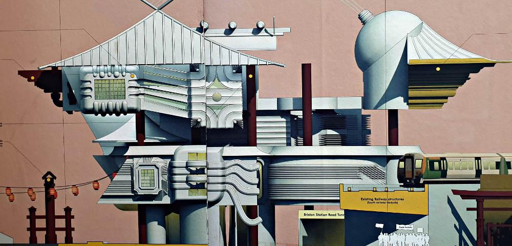Minh-Le, architecture design, CSM, Central Saint Martins, Wes Andersen, Yoko Ono