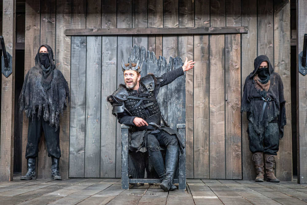 Macbeth, review, Blenheim, Rose Theatre
