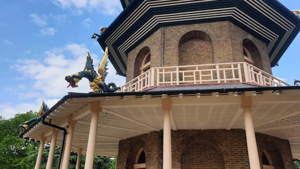 things to do in Kew Gardens when it rains, Pagoda