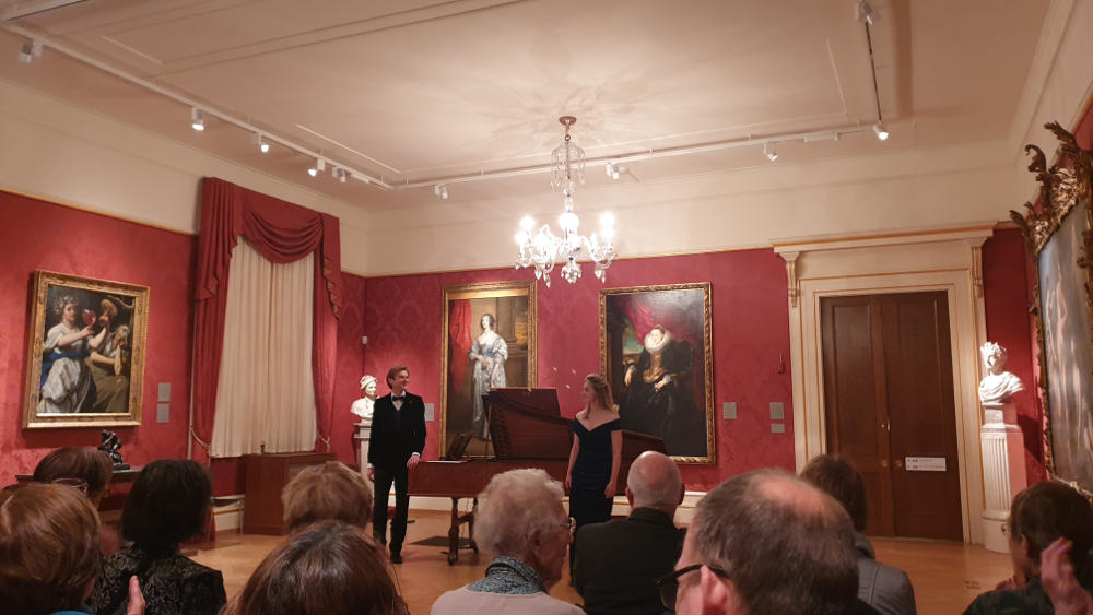 A Night at the Museum Oxford Lieder