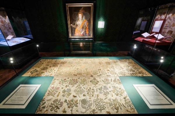 Lost Dress of Elizabeth I, Bacton Altar Cloth, Rainbow Portrait