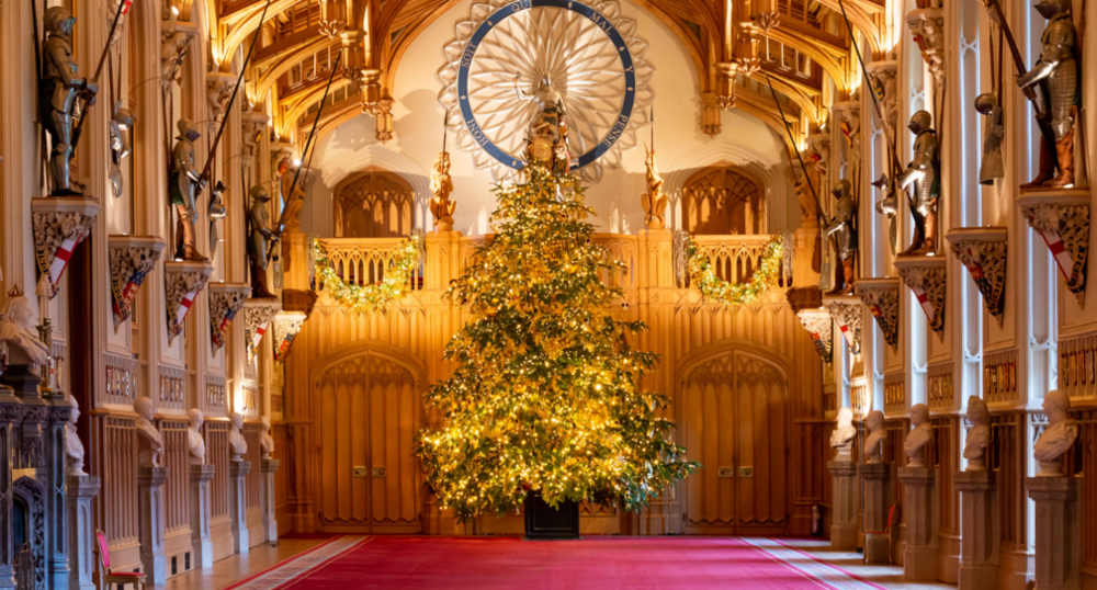 Windsor Castle at Christmas
