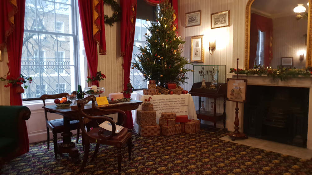 Christmas at the Dickens Museum London