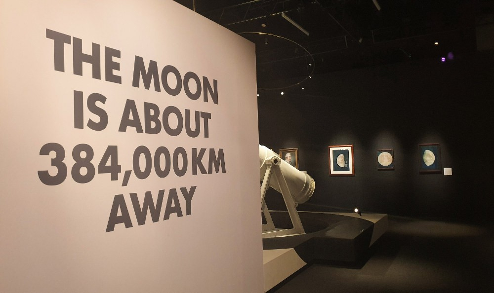 The Moon Exhibition at the National Maritime Museum