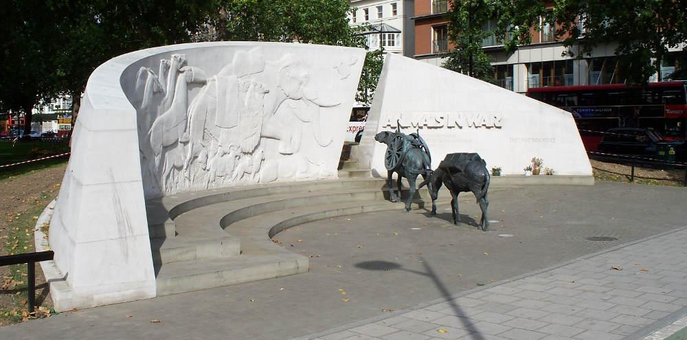 Animals in war Park Lane