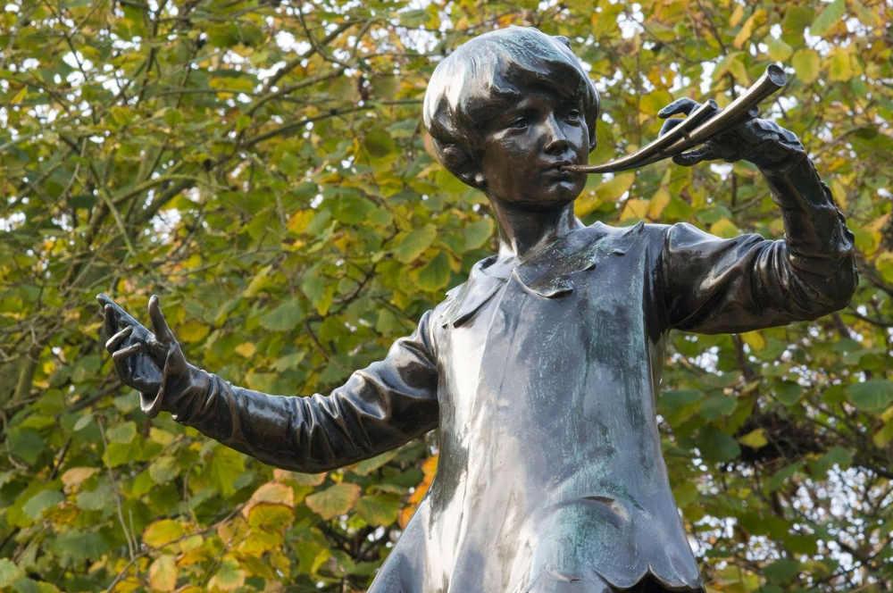 Peter Pan statue London