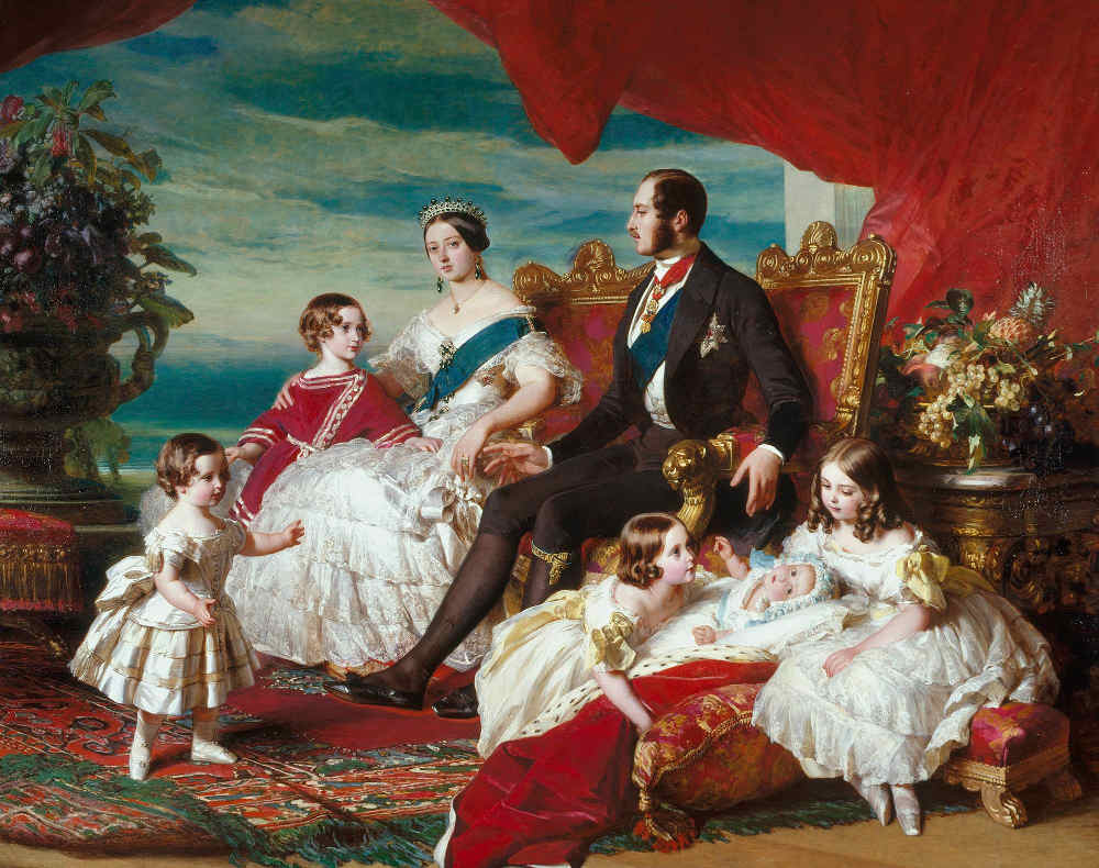 Must-see Art for Kids in Buckingham Palace