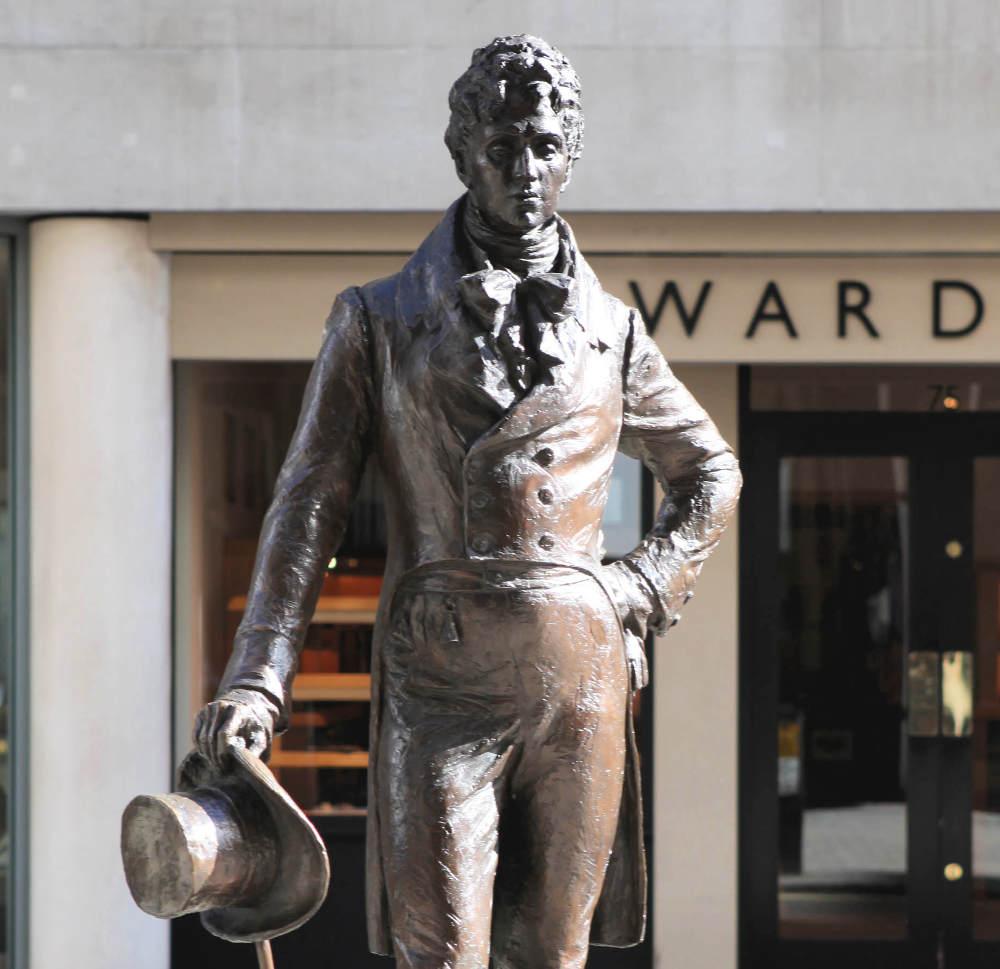Famous Dandy Beau Brummell