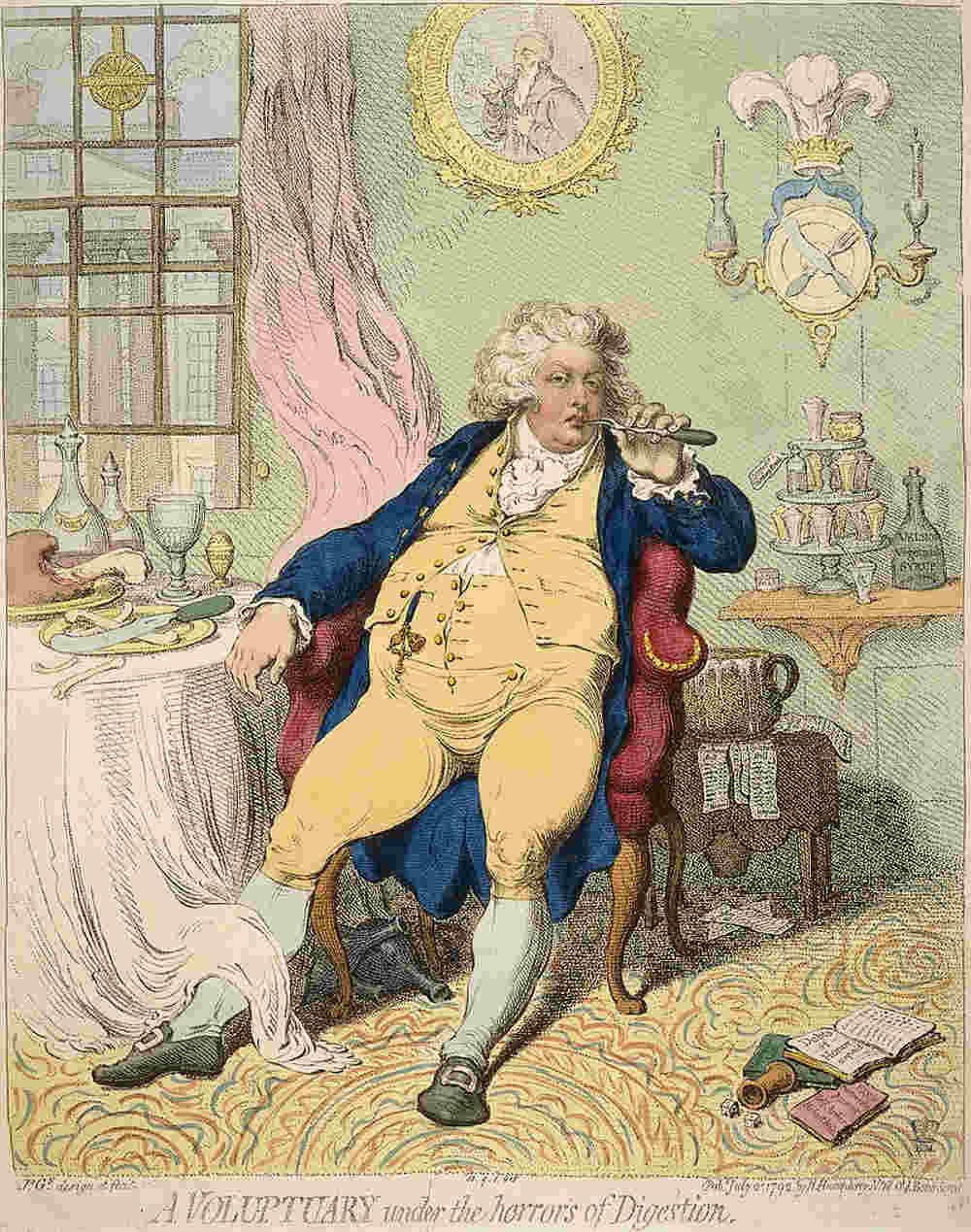 Beau Brummell, Prince Regent