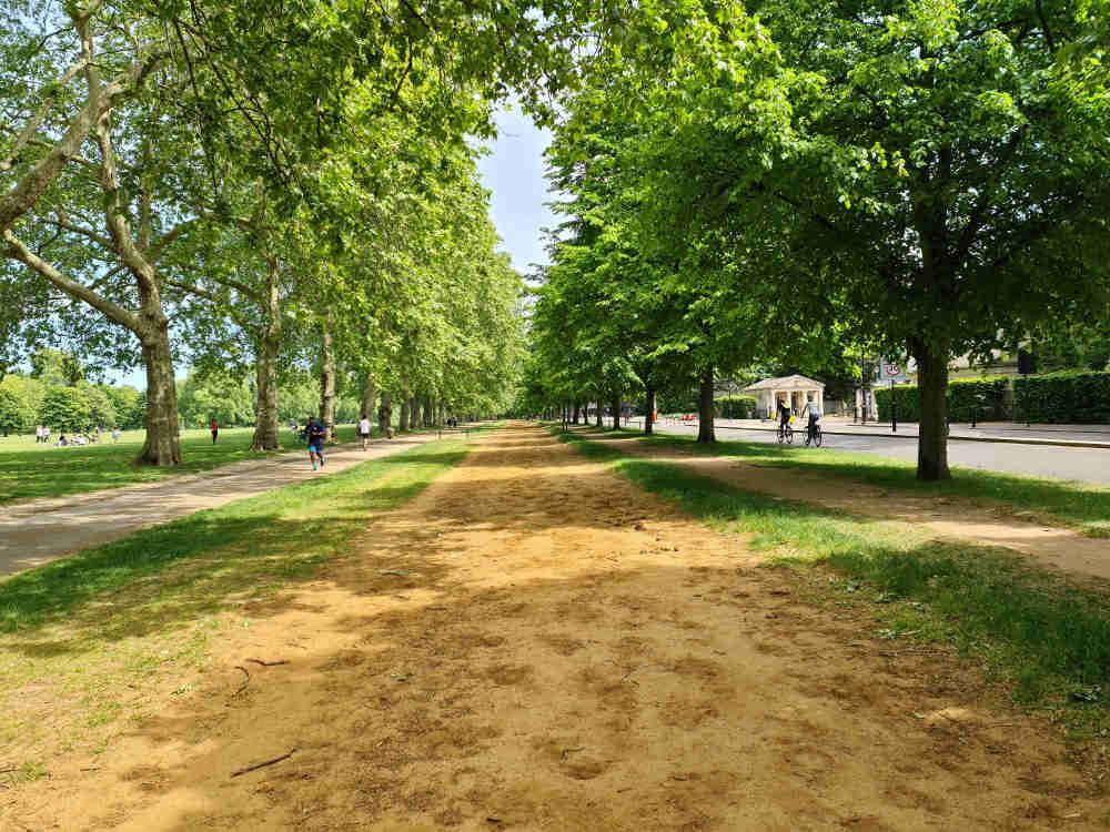 Rotten Row Hyde Park, Beau Brummell