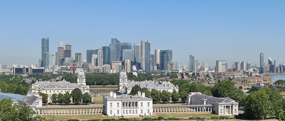 Best view in London, Royal Museums Greenwich
