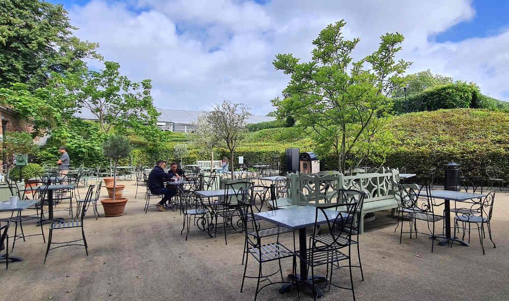 Palace cafe, Kensington Palace