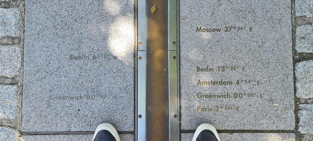 Royal Museums Greenwich, Prime Meridian Line, Greenwich Mean Time