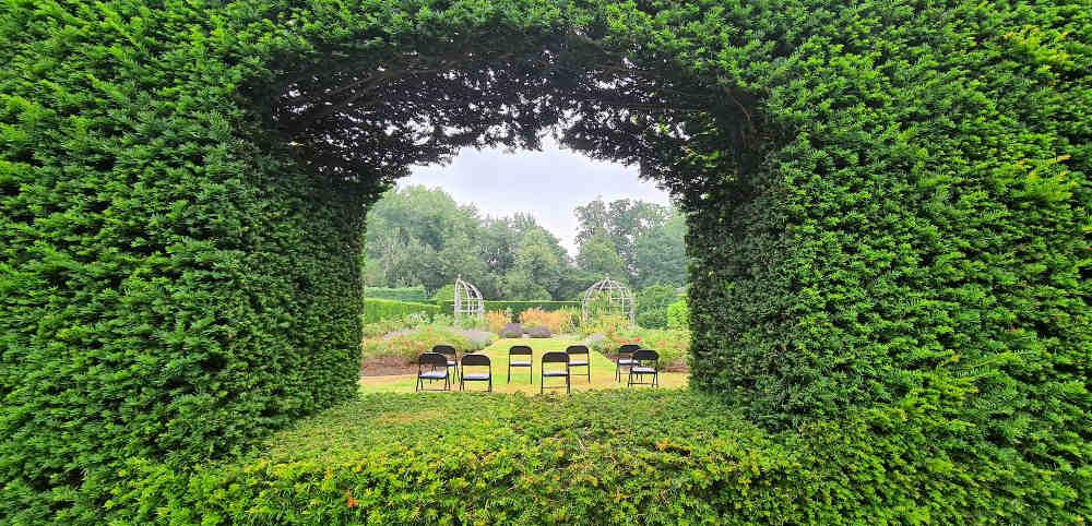 Waterperry rose garden