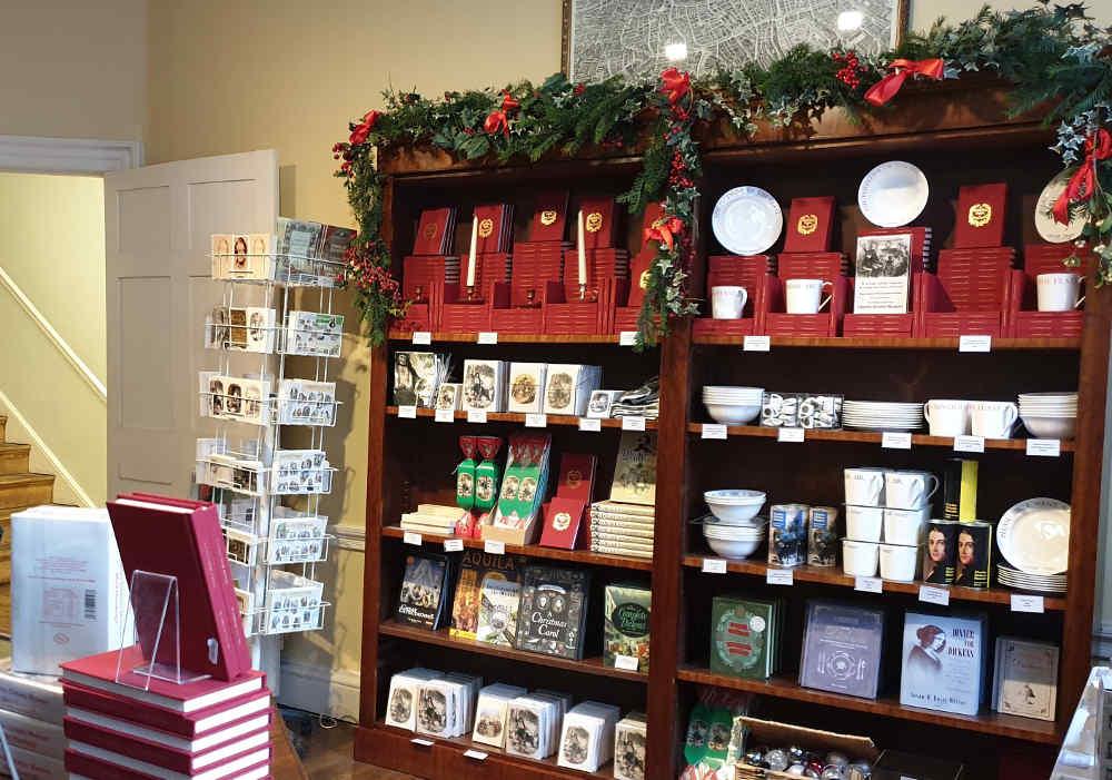 Dickens Museum online shop