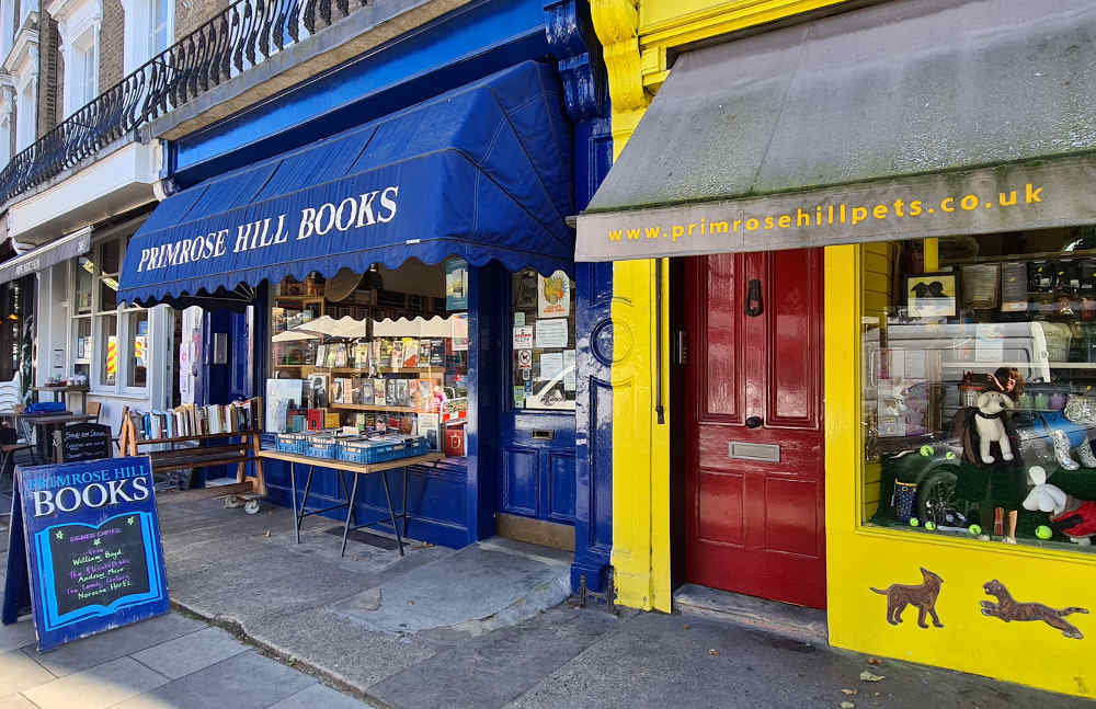 Primrose Hill bookshop, north London books