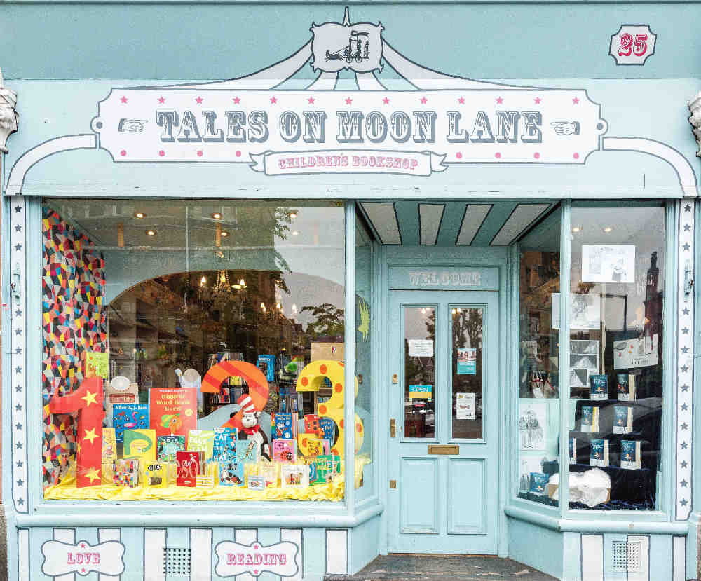 best independent bookshops in London, tales on moon lane