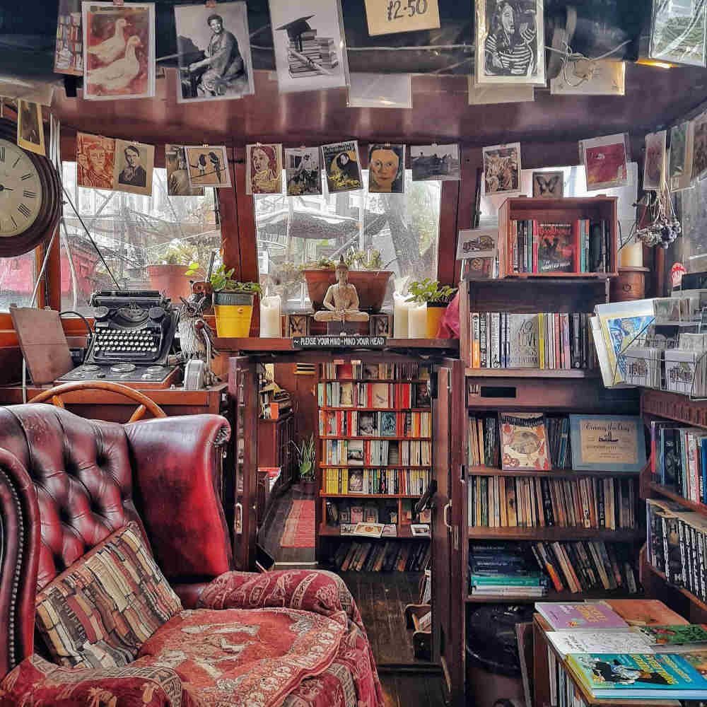 best independent bookshops in London, Word on the Water