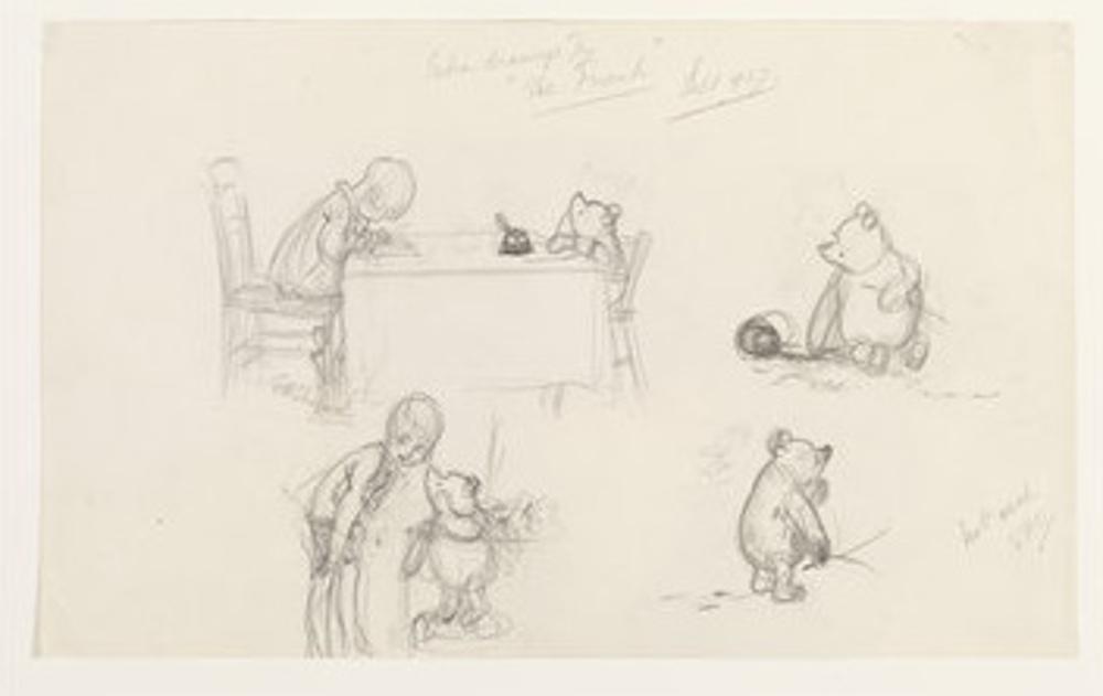 E. H. Shepard, Winnie-the-Pooh