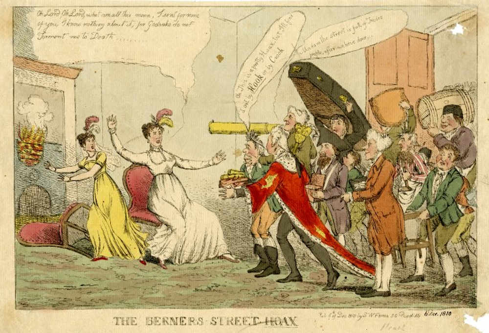 Berners Street Hoax, famous Londoner