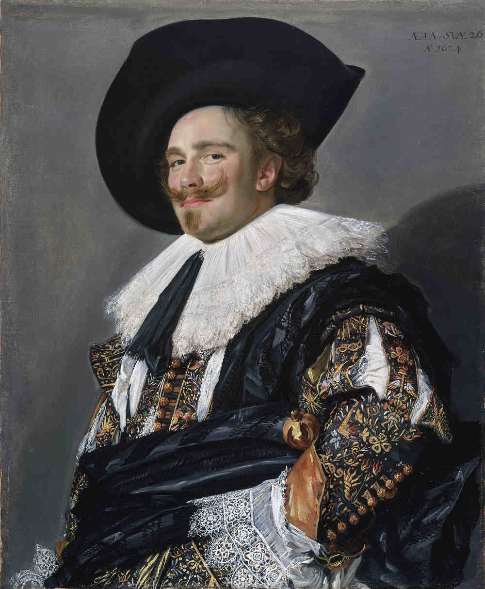 Laughing Cavalier, Wallace Collection, Frans Hals