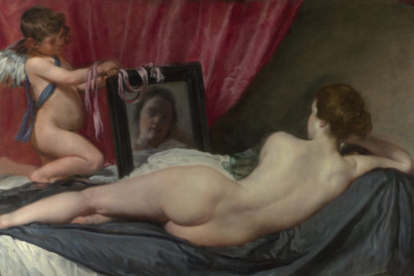 Rokeby Venus, Venus at her Mirror, National Gallery